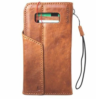 $ CDN45.40 • Buy Genuine Real Leather Case Fit Samsung Galaxy NOTE 8 Book Wallet Magnetic Cover
