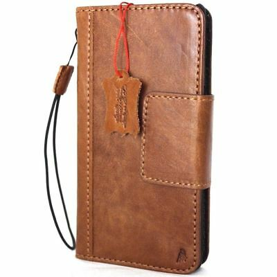 $ CDN43.56 • Buy Genuine Real Leather Case For Samsung Galaxy NOTE 8 Book Wallet Magnetic Cover R
