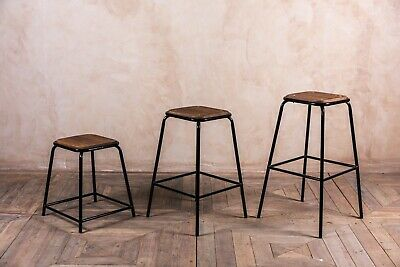 Industrial Style Lab Stools More Sizes And Colours Large Quantity Of Bar Stool • 30£