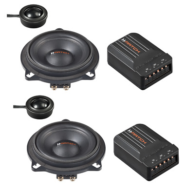 Match 2 Way 4   Component Speaker Upgrade To Fit BMW 5 Series F10 F11 • 134.95£