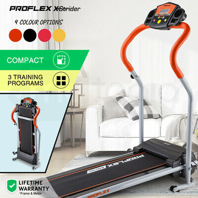 AU369 • Buy PROFLEX Electric Treadmill Compact Machine Walking Exercise Fitness Equipment