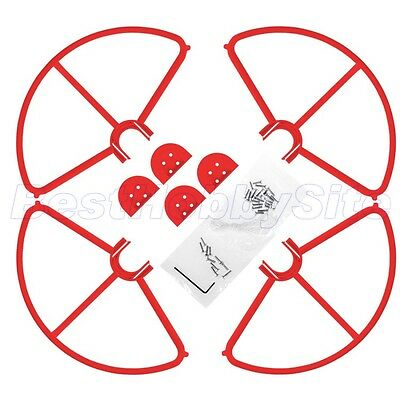 AU17.84 • Buy Quick Release Propeller Guard DJI Phantom 3 Professional Advanced Red