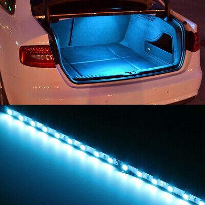 $9.09 • Buy IceBlue 18-SMD LED Strip Light For Car Trunk Cargo Area Or Interior Illumination