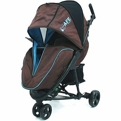 Baby Stroller ISafe 3 Wheeler Pram Buggy Visual 3  • 69.95£