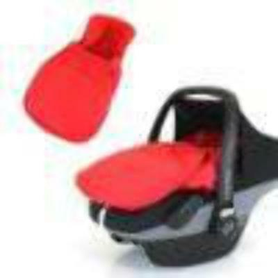 Carseat Footmuff Warm Red Fits Graco Logico Auto Baby Pram Travel System • 19.95£
