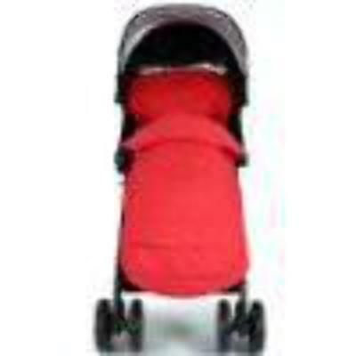 £12.88 • Buy New Luxury Padded Footmuff Liner - Warm Red Fit Maclaren Quest Triumph Techno