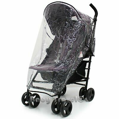 Rain Cover Fit Hauck Icoo Pluto Pushchair Stroller • 11.95£
