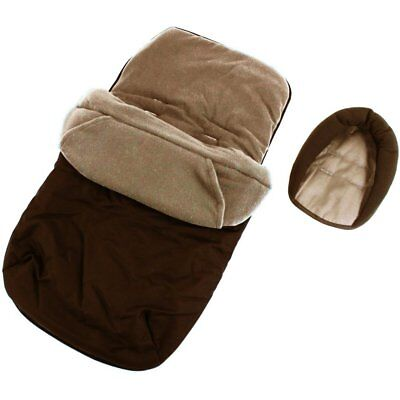 £9.95 • Buy Footmuff To Fit Petite Star Zia, Quinny Buzz - Hot Chocolate (Brown)