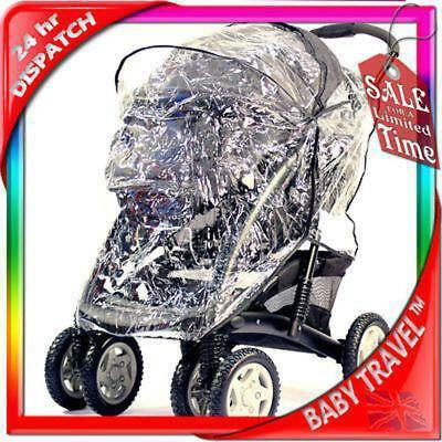 Graco Quattro Tour Deluxe Travel System Raincover • 12.95£