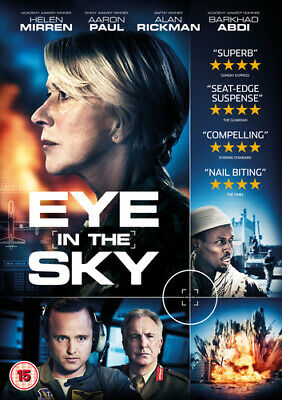 Eye In The Sky DVD (2016) Helen Mirren, Hood (DIR) Cert 15 Fast And FREE P & P • 2.10£