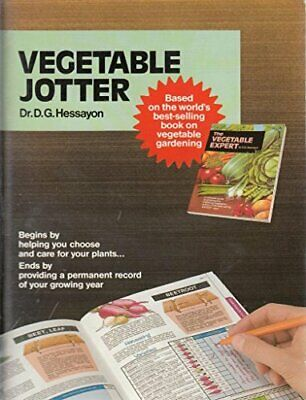 Vegetable Jotter (Jotters) By Hessayon, D. G. Record Book Book The Fast Free • 5.44£