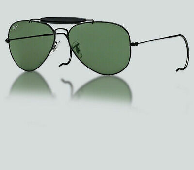 5ffe06aaa51 Authentic Ray Ban RB 3030 OUTDOORSMAN L9500 BLACK Sunglasses • 129.99