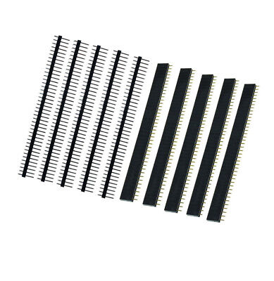 $0.99 • Buy 10PCS Male & Female 40pin 2.54mm Header Socket Row Strip PCB Connector Cool
