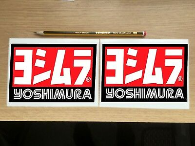 X2 YOSHIMURA RACING EXHAUST Decal / Sticker  • 3.99£