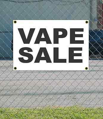 AU18.47 • Buy 2x3 VAPE SALE Black & White Banner Sign NEW Discount Size & Price FREE SHIP