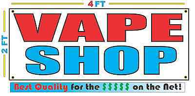 AU20.94 • Buy 2x4 VAPE SHOP Banner Sign NEW Discount Size - Best Quality For The $$$