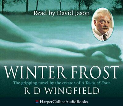 Winter Frost By Wingfield, R. D. CD-Audio Book The Fast Free Shipping • 9.09£