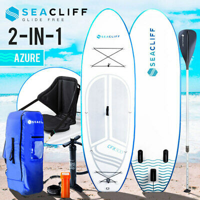 AU419 • Buy 【EXTRA10%OFF】SEACLIFF Stand Up Paddle Board SUP Inflatable Paddleboard Kayak