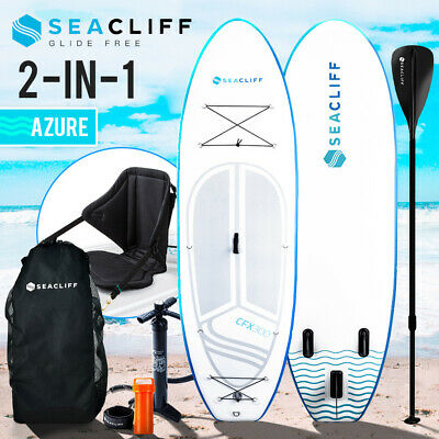 AU429 • Buy SEACLIFF Stand Up Paddle Board SUP Inflatable Paddleboard Kayak Surf Board