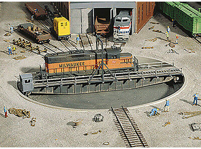 $ CDN53.03 • Buy Walthers Cornerstone HO Scale Building/Structure Kit 90 Foot Train Turntable