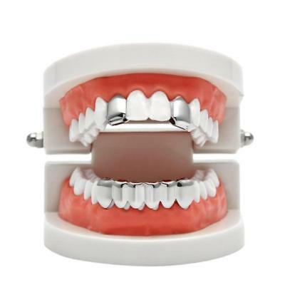 Newest Custom  Hollow Open Face Teeth Grillz Caps Grill Set LC • 3.24£