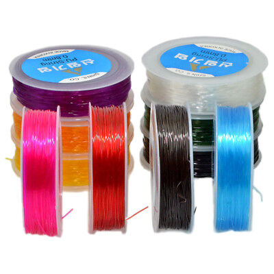 $6.99 • Buy Korean Strong Stretchy Elastic String Cord Thread For Diy Bracelet Jewelry