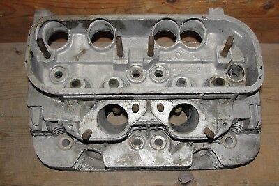 AU143.42 • Buy Used VW/Porsche#022101371H Engine Cyl.Head Perfect Fins/Needs #3 Exh Seat Repair