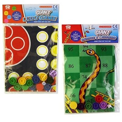 Giant Ludo Games Traditional Family Fun Game Out Door Indoor Fold Out Play Mat  • 5.99£