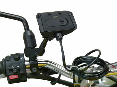 £82.99 • Buy BuyBits Hardwire Powered Motorcycle M8/M10 Hole Mount Dock For TomTom Rider PRO