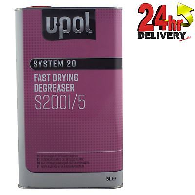 £19.50 • Buy U-Pol System 20 Fast Panel Wipe & Degreaser 5L Panelwipe Upol