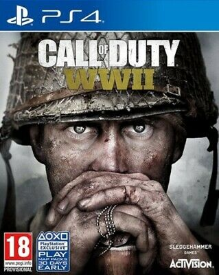 £7.84 • Buy Call Of Duty: WWII (PS4) PEGI 18+ Shoot 'Em Up Expertly Refurbished Product
