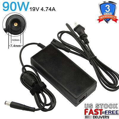 $9.99 • Buy 90W AC Adapter For HP Elitebook 8560w 8560p 8470p 8470w 8570p Power Cord Charger