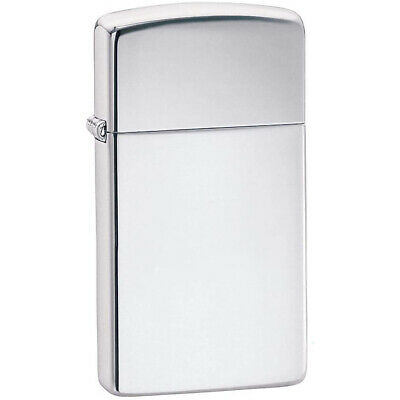 $14.95 • Buy Zippo Slim Polished Chrome Pocket Lighter