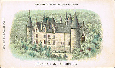 $ CDN7.24 • Buy Chocolate Advertising Postcard ~ Chateau De Bourbilly France ~ Chocolat  Louit