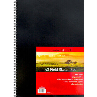Crawford And Black A3 Sketch Pad, Art & Craft, Brand New • 7£