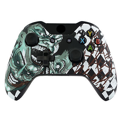 $15.02 • Buy Joker Faceplate Front Shell Case Cover Repair Parts For Xbox One Game Controller