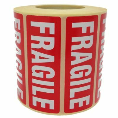 Fragile Parcel Labels - Postage Stickers - 89 X 32mm - Permanent Self Adhesive • 4.18£