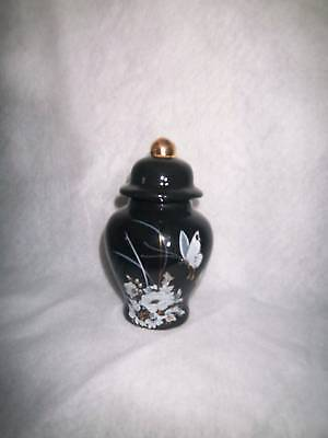 $34.99 • Buy Ceramic Black Urn/Small/Keep/ Sake Great Piece