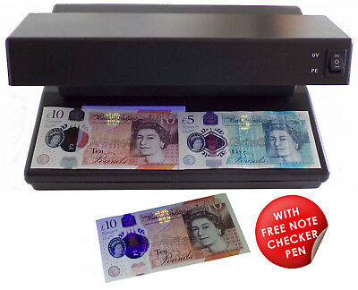 £18.95 • Buy 12W 2-in-1 UV Money Checker Fake Counterfeit Polymer & Paper Bank Note Detector