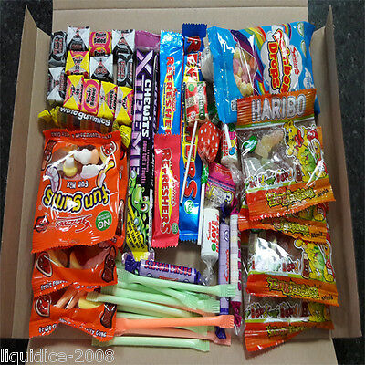 £6.99 • Buy Retro Mix Sweets Gift Box Sweet Hamper Candy Treats  Christmas Wedding Favours