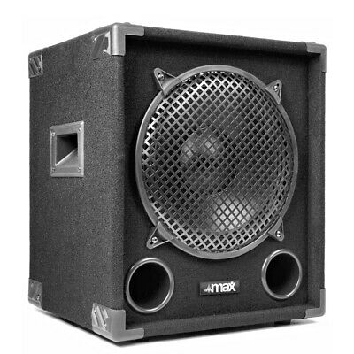 £98.99 • Buy MAX12SUB 12  DJ PA Passive Bass SubWoofer Speaker 400W RMS Disco Party