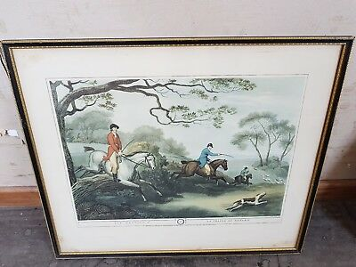 Fox Hunting No 4 La Chasse Au Renard By Samuel Howitt Print Collection Only • 39.99£