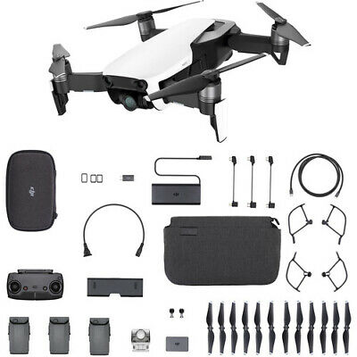 AU1272.59 • Buy DJI Mavic Air Fly More Combo Arctic White