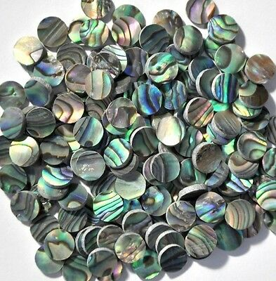 50 Inlay Dots In Paua Abalone 4mm For Guitar • 13.48£