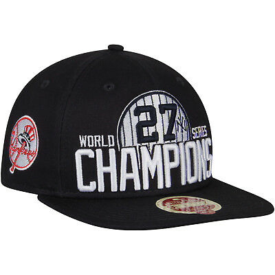 571483e2e New York Yankees Mlb 27x's World Series Champions New Era Snapback Hat/cap  Nwt •