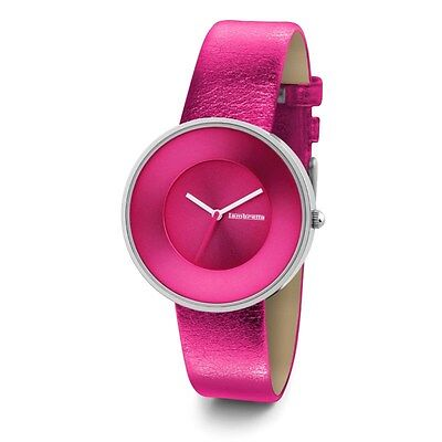 Lambretta Watch Cielo Metallic Pink 2103PIN Stainless Steel Leather New Boxed • 38.36£