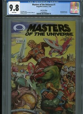 $179.95 • Buy Masters Of The Universe #1  (Gold Foil)  CGC 9.8  WP