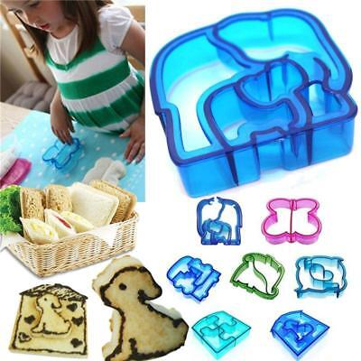 £2.47 • Buy Children Kids Sandwich Crust Cutter Mould Stamp Animal Shapes Lunch LC