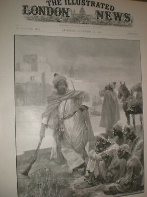 Rebellion Morocco Awaiting Execution R Caton Woodville 1902 Print Ref AW • 9.99£