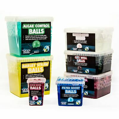 £10.95 • Buy Tap Pond Water Treatment Ball Blanketweed Bacteria Remover Clear Aqua Koi Fish
